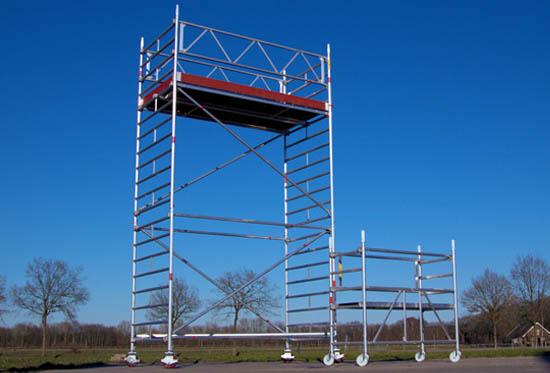 Aluminium rolsteigers / Werkbruggen