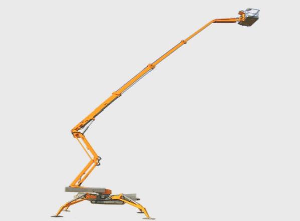De nieuwe Omme 2500 RXJ spinhoogwerker